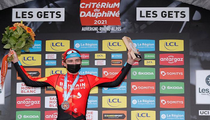 Украинец Падун выиграл второй кряду этап велогонки Критериум Дофине