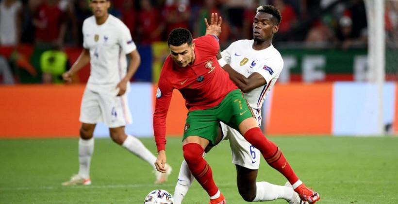 Португалия — Франция 2:2 онлайн трансляция матча