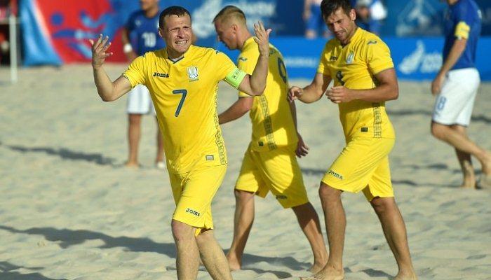 Сборная Украины по пляжному футболу вышла в Суперфинал Евролиги-2021
