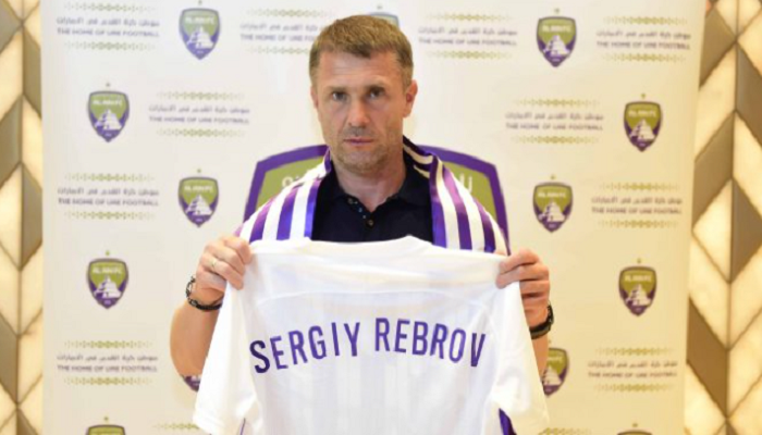 Аль-Айн представив Реброва в якості головного тренера