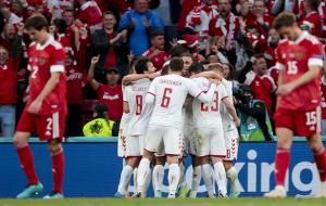 Дания разгромила Россию и вышла в плей-офф со второго места