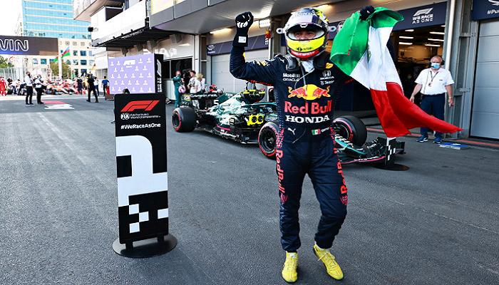 Серхио Перес выиграл Гран-при Азербайджана
