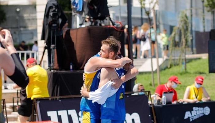 Мужская сборная Украины по баскетболу 3×3 вышла в плей-офф квалификации ЧЕ-2021
