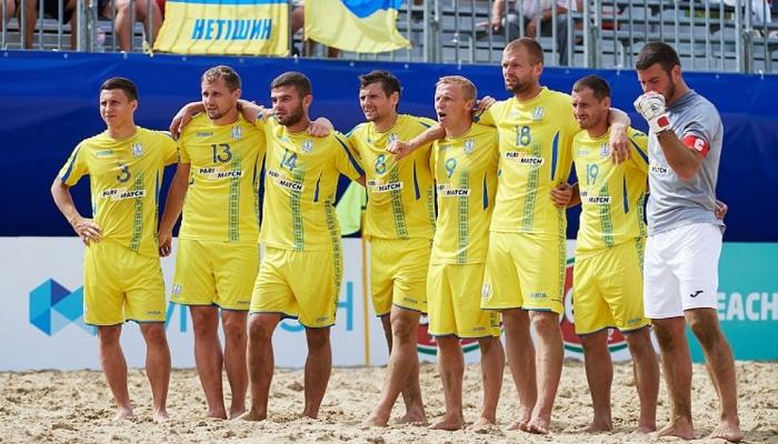 Збірна України з пляжного футболу поступилася Швейцарії в заключному матчі групового етапу Суперфіналу Євроліги-2021