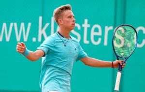 Украинец Белинский выиграл юношеский чемпионат Европы по теннису