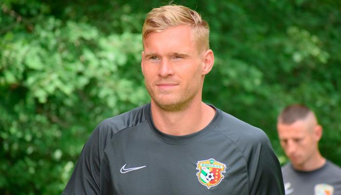 Защитник Ворсклы Тамм пропустит первый матч с КуПСом из-за дисквалификации