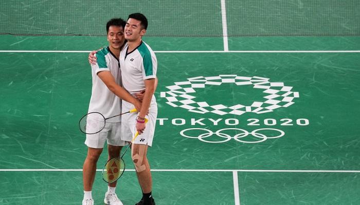 Китайский Тайбэй выиграл золото в парном олимпийском турнире по бадминтону