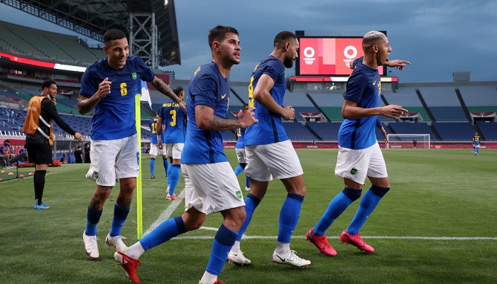 Футбол на Олимпиаде: Бразилия выиграла группу, Германия не вышла в плей-офф