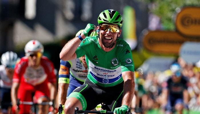 Марк Кавендиш повторил исторический рекорд по числу выигранных этапов Тур де Франс