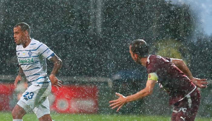 Гол новачка Шкуріна допоміг Динамо зіграти внічию з Серветтом в товариському матчі