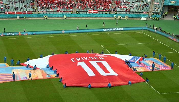УЄФА запросив на фінал Євро-2020 Еріксена та лікарів, які врятували його на полі