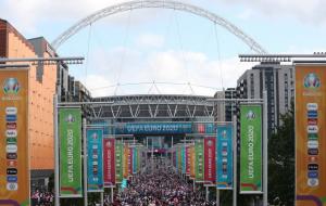 Англия должна провести матч без зрителей из-за беспорядков около Уэмбли на Евро-2020