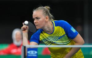 Українка Гапонова не змогла пробитися до другого раунду Олімпіади з настільного тенісу
