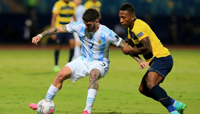 Аргентина и Колумбия сыграют в полуфинале Копа Америка