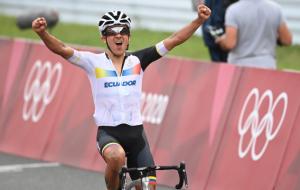 Эквадорец Карапас стал Олимпийским чемпионом по велоспорту, Погачар — третий