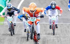 Нидерландец Кимманн и британка Шривер стали Олимпийскими чемпионами в BMX