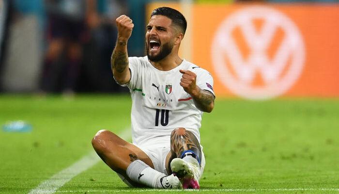 Инсинье получил награду лучшему игроку матча Бельгия — Италия