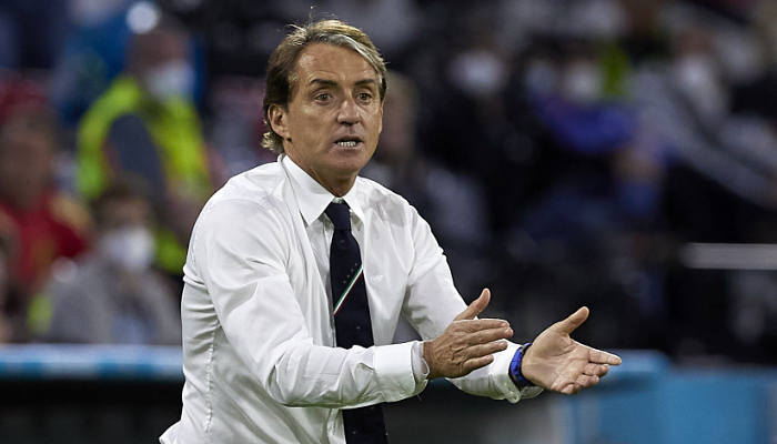 Манчини быстрее всех добыл 30 побед во главе сборной Италии