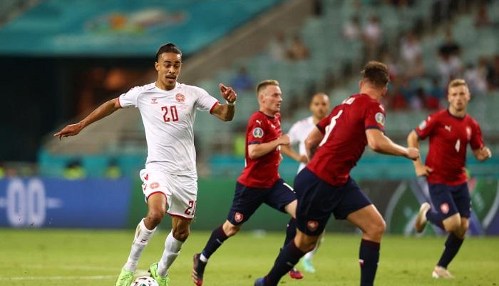 Данія обіграла Чехію і вийшла в півфінал Євро-2020