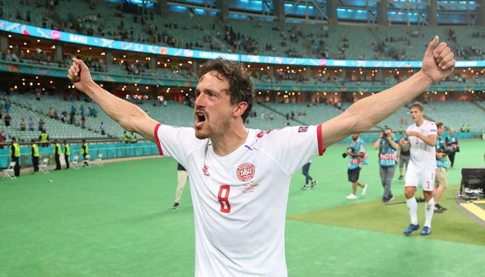 Дилэйни назван лучшим игроком матча Чехия — Дания