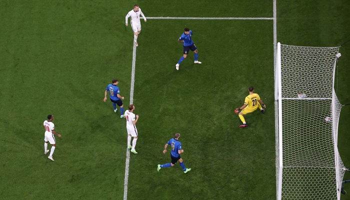 Италия — Англия. Видео голов и обзор матча