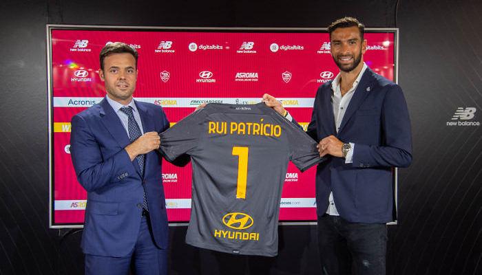 Рома підписала контракт з Руєм Патрісіу