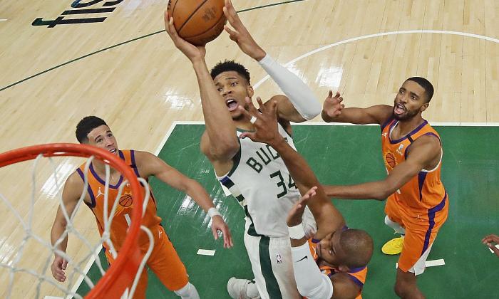 Милуоки сравнял счет в финальной серии НБА против Финикса