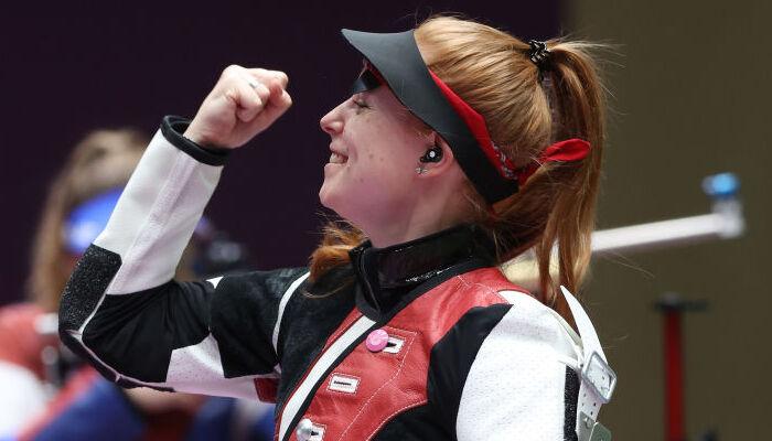 Швейцарка Крістен стала Олімпійською чемпіонкою у стрільбі з гвинтівки з трьох положень