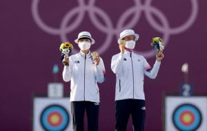 Південна Корея виграла золото у стрільбі з лука в командному міксті