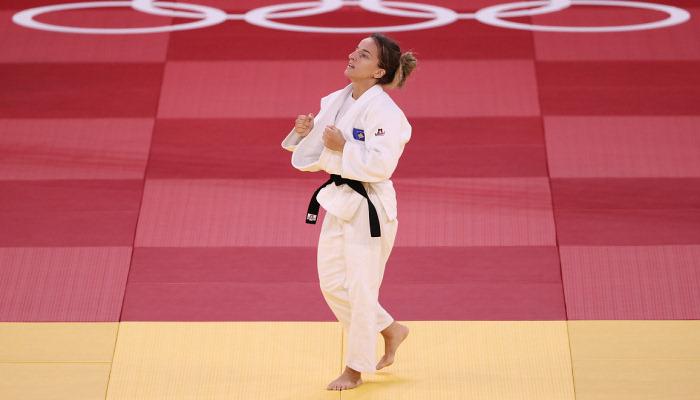 Красники стала Олимпийской чемпионкой по дзюдо в категории до 48 кг