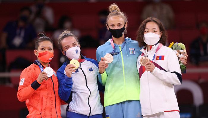 Белодед завоевала бронзовую медаль Олимпийских игр в Токио