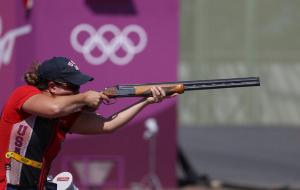 Американка Инглиш с рекордом стала Олимпийской чемпионкой по стендовой стрельбе