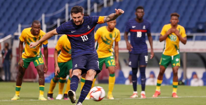 Олимпийский футбольный турнир: Франция перестреляла Южную Африку, Испания обыграла Австралию