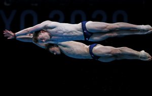 Сербин и Середа заняли шестое место в синхронных прыжках в воду, британцы — Олимпийские чемпионы