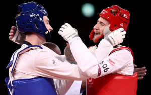 Храмцов – Олімпійський чемпіон з тхеквондо в категорії до 80 кг