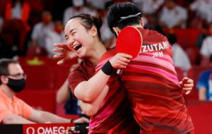 Япония выиграла золото в миксте в настольном теннисе на Олимпиаде