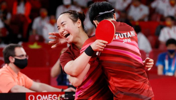 Японія виграла золото в міксті в настільному тенісі на Олімпіаді