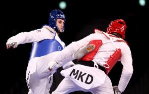 Россиянин Ларин стал Олимпийским чемпионом по тхэквондо в категории свыше 80 кг