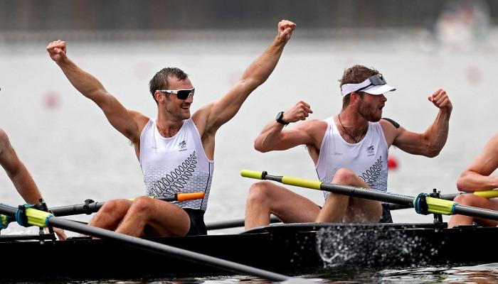 Нова Зеландія виграла два золота в академічному веслуванні
