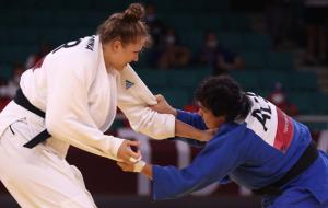 Каланина проиграла 1/8 финала олимпийского турнира по дзюдо