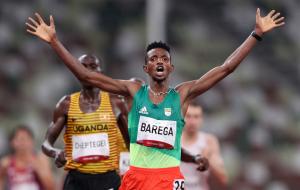 Барега — олимпийский чемпион в беге на 10 километров