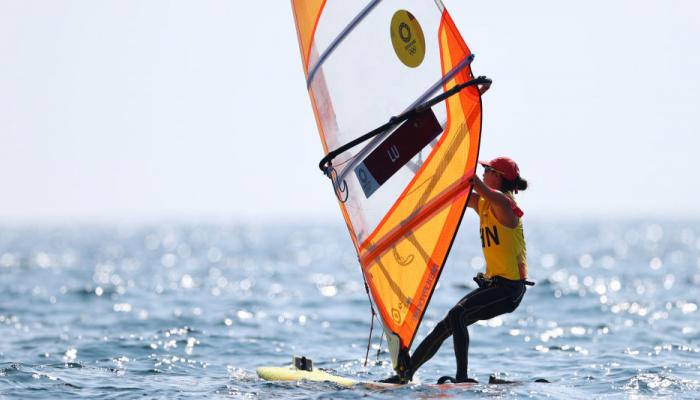 Китаянка Лу Юньсю стала Олімпійською чемпіонкою з вітрильного спорту в класі RS:X