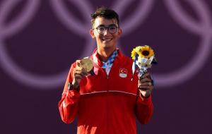 Турок Газоз став Олімпійським чемпіоном зі стрільби з лука