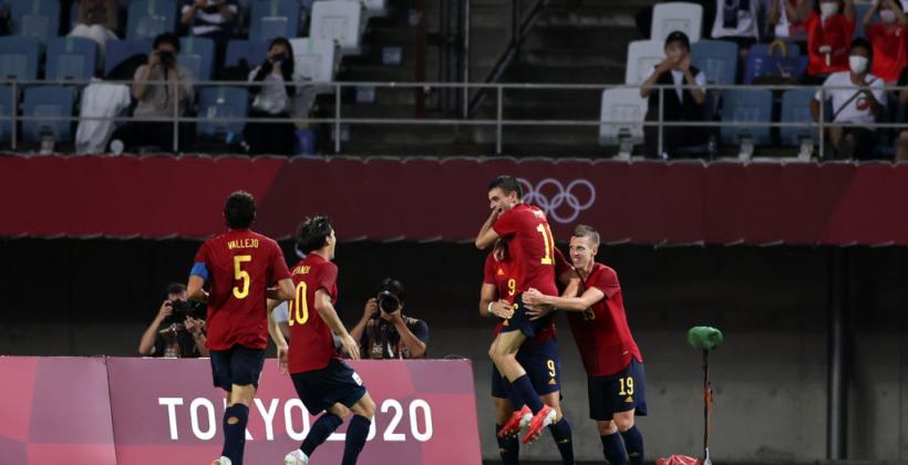 Олимпийский футбольный турнир: Испания, Япония, Бразилия и Мексика вышли в полуфинал
