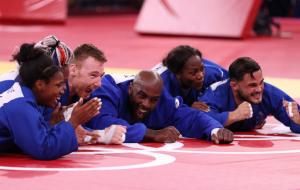 Франція виграла золото Олімпіади в змішаному командному турнірі з дзюдо