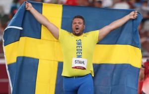Швед Столь завоевал золото Олимпийских игр в метании диска