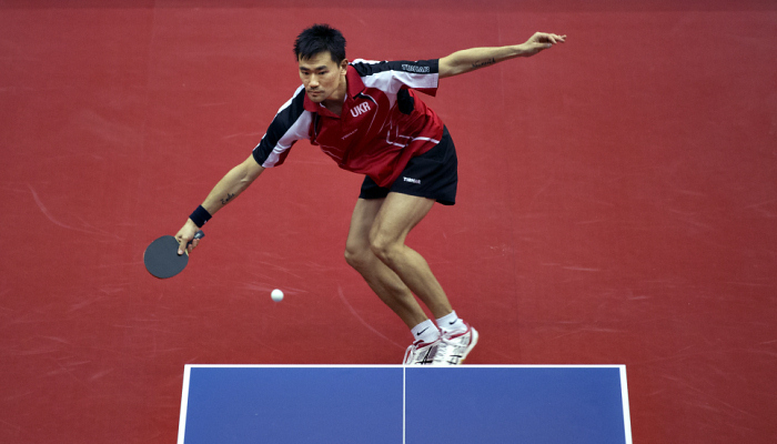 Коу Лей вылетел во втором раунде олимпийского турнира по настольному теннису