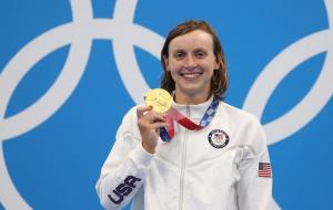 На Олимпиаде в Токио разыграли пять комплектов медалей в плавании