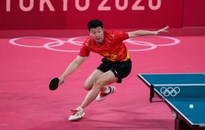 Китаец Ма Лун — олимпийский чемпион по настольному теннису