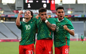 Мексика разгромила Францию в первом туре Олимпиады-2020
